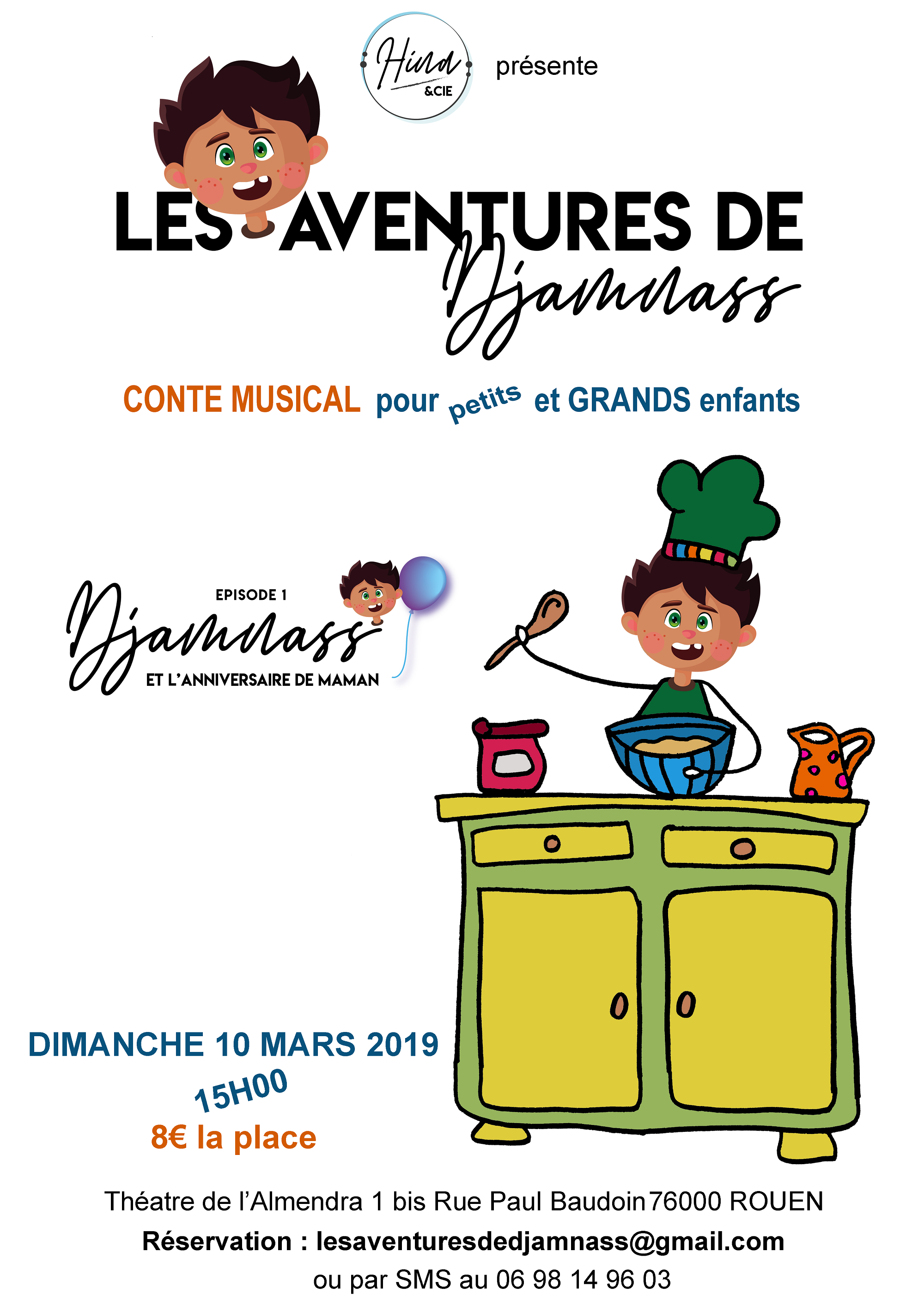 Spectacle pour enfants 2019 théâtre de l'Almandra Rouen